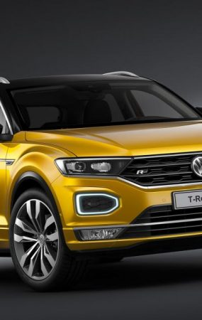 Volkswagen T-Roc and Tiguan Allspace Get R-Line treatments