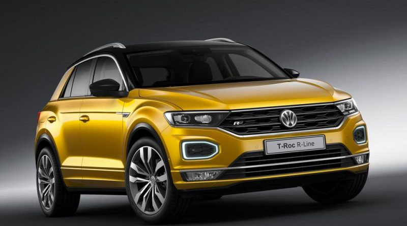 Volkswagen T-Roc and Tiguan Allspace Get R-Line treatment
