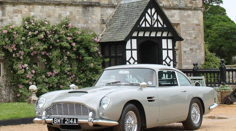 James Bond's Classic Aston Martin DB5 Up for Sale