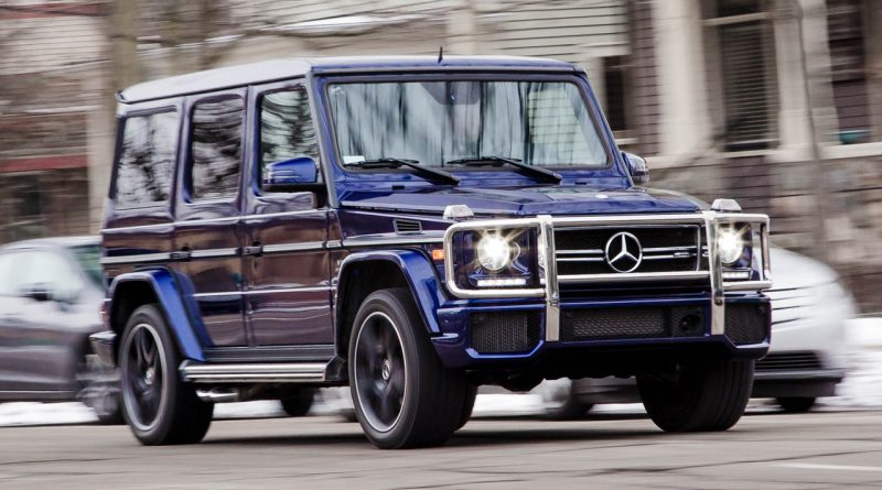 2017 Mercedes-AMG G65 Recalled For High Reverse Speed