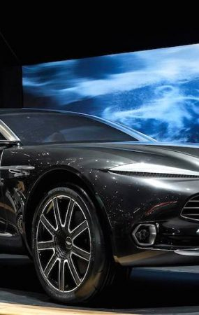 Aston Martin to Turn DBX into Varekai in 2019