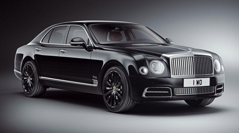 Bentley Celebrates Centenary with 100 Special Mulsannes