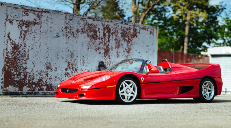 First-Ever Ferrari F50 is Ready to Break Your Bank Balance