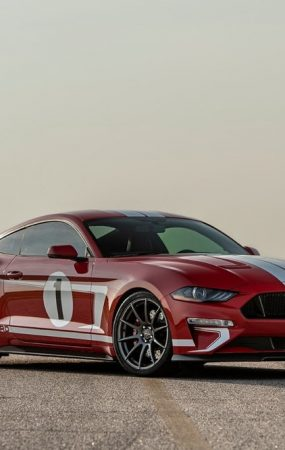 Hennessey Chooses 808-HP Heritage Mustang as its 10,000th Car