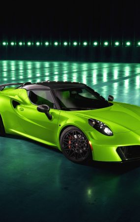 Latest Pogea Racing Alfa Romeo 4C is an Impressive Green Creation