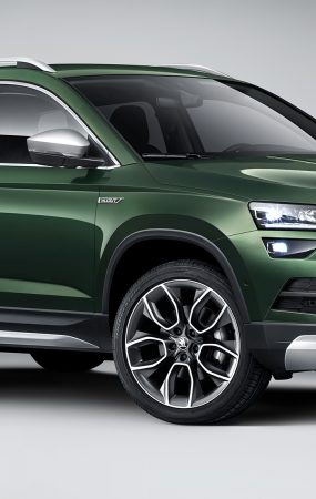 New Skoda Karoq Scout Trying to Look Like a Tough SUV