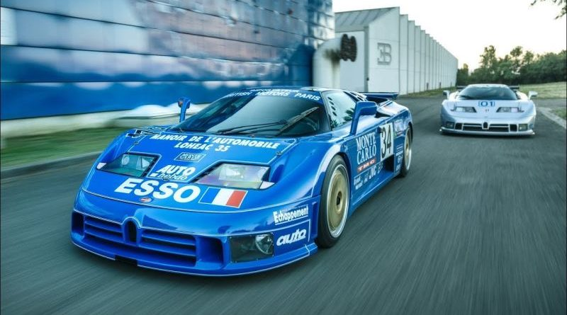 Watch the Story Behind Two Bugatti's 90s Superstars