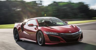 Acura NSX Recalled for Third Brake Light and Fuel Tank Problems