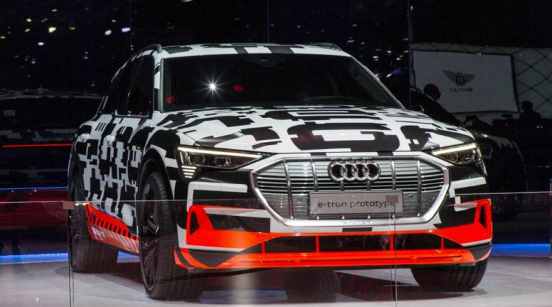 Audi Starts Production of All-Electric E-Tron Ahead of Launch