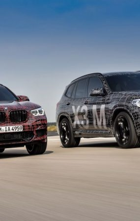 BMW Teases X3 M and X4 M Crossovers