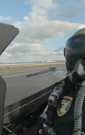 Fast Cars, F16 Fighter Jet Drag Race Kawasaki Ninja H2R, Humiliation is Heavy