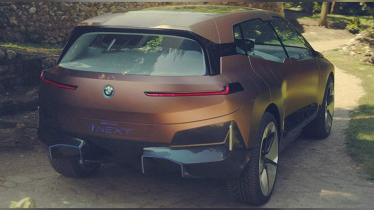 Leaked BMW iNext Concept Looks Pretty Glossy