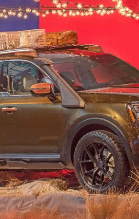 One-Off Kia Telluride Revealed at New York Fashion Week