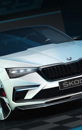 Skoda Vision RS Concept Sketches Come Into the Light