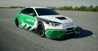 Electric Audi RS3 Outspeeds Porsche 911 GT2 RS in Running Backwards