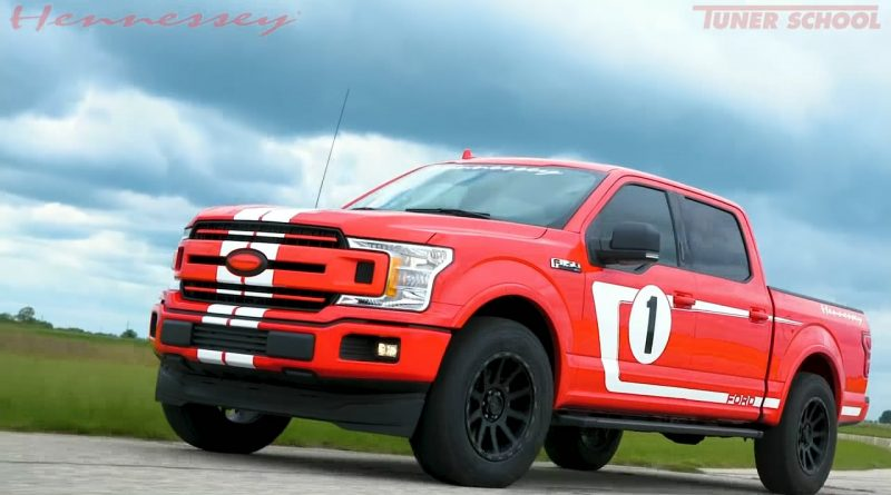 Hennessey Heritage Edition F-150 is Wilder Than Ford GT