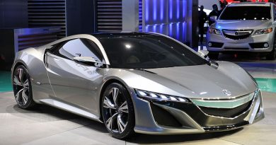 Acura NSX Hybrid Supercar is a Gorgeous Performer