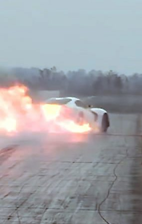 Dodge Viper Drag Races Fireball Viper