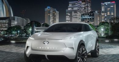 Infiniti QX Inspiration EV Concept Looks Smooth and Cool