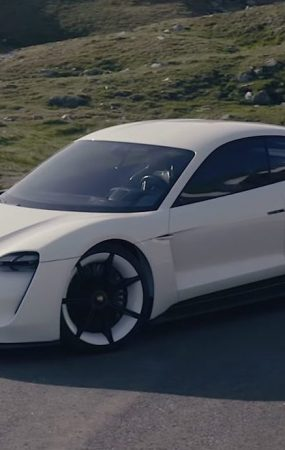 Porsche Taycan Electric Car to Challenge Tesla