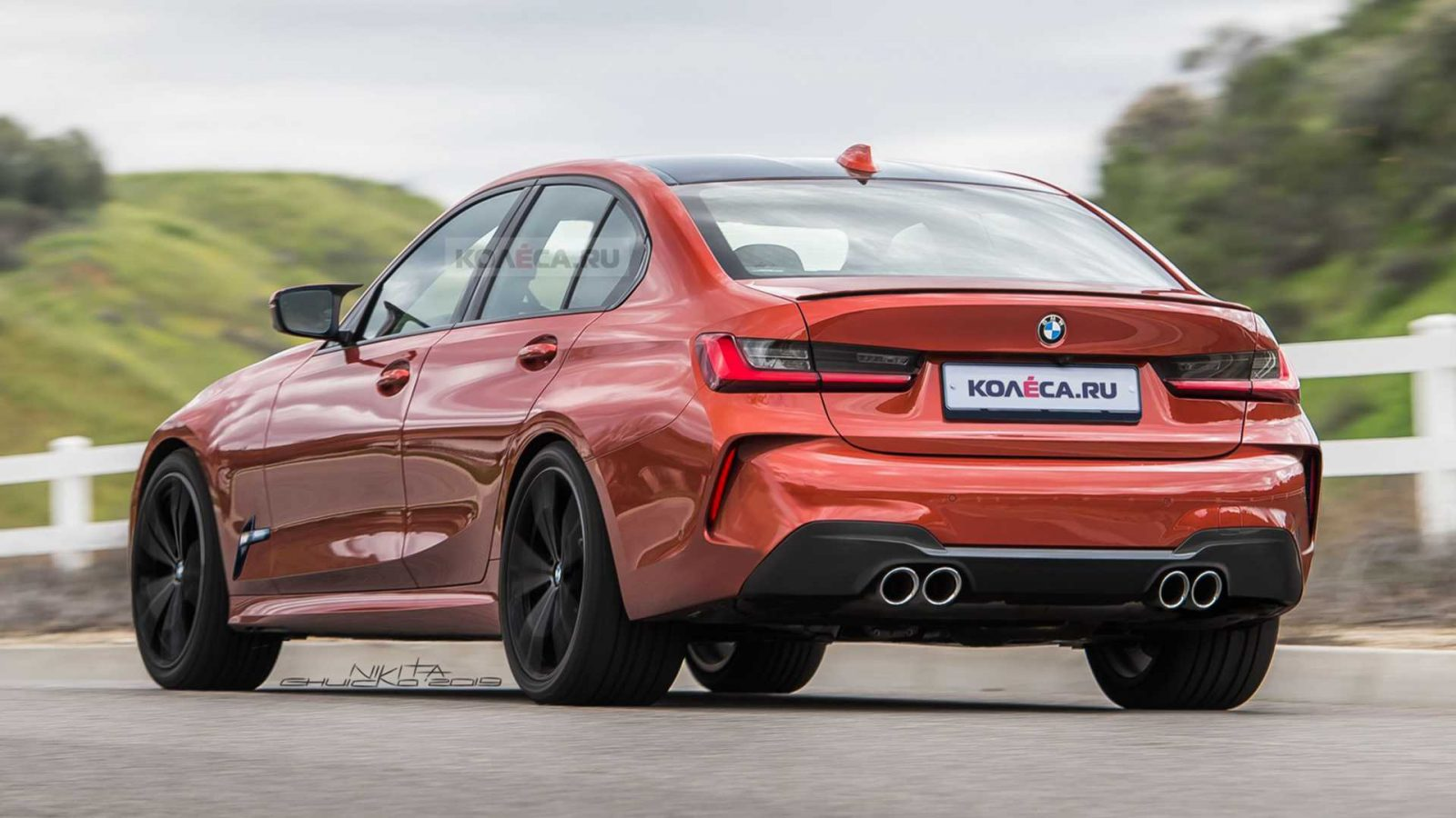 2020 BMW M3 to Feature Massive Grille