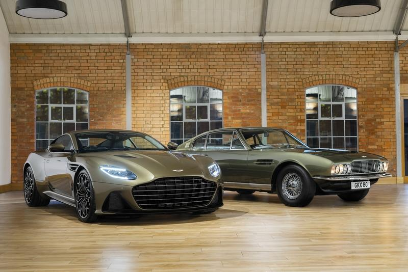 Aston Martin's New DBS Superleggera Pays Homage to the 50th Anniversary of OHMSS