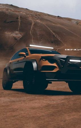 Bentley Bentayga Bengala is a Brutal and Luxurious Off-Road Monster