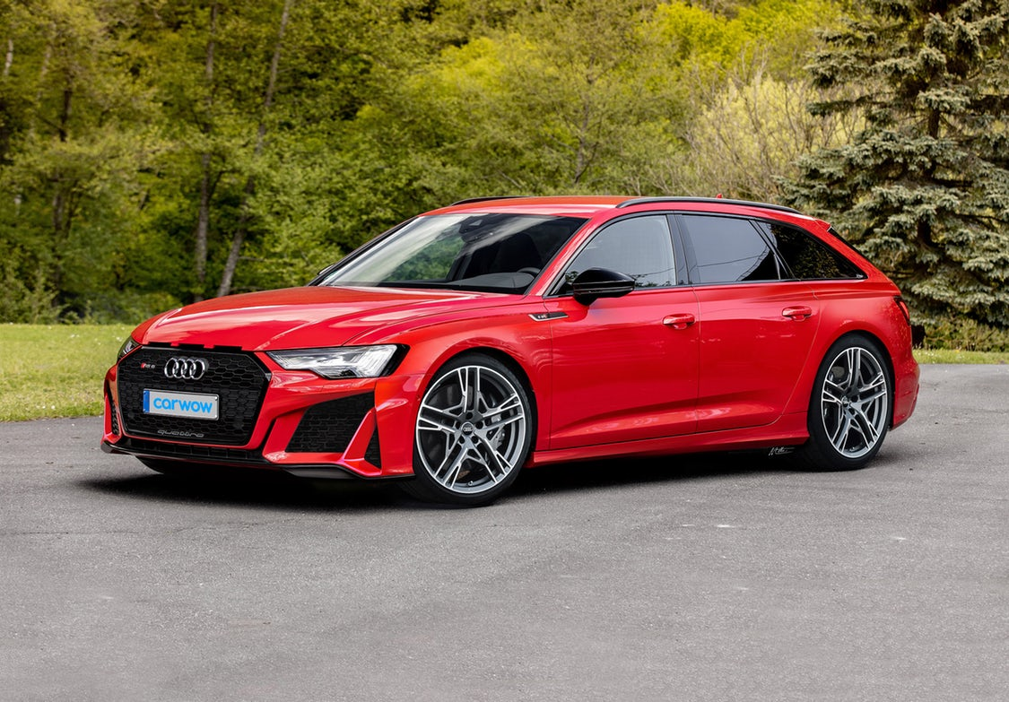 The new 2020 Audi RS6 Avant rendered by carwow