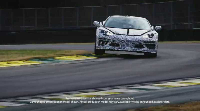2020 Chevy Corvette C8 Teased Again