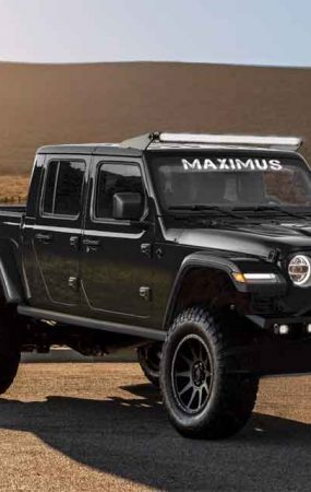 Hennessey Transforms Jeep Gladiator into Maximus 1000
