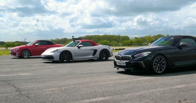 Roadster Battle: BMW Z4 vs Porsche Boxster GTS vs Audi TTS