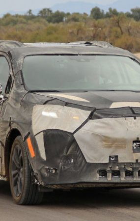 2021 Toyota Sienna Van Spotted Testing in Death Valley