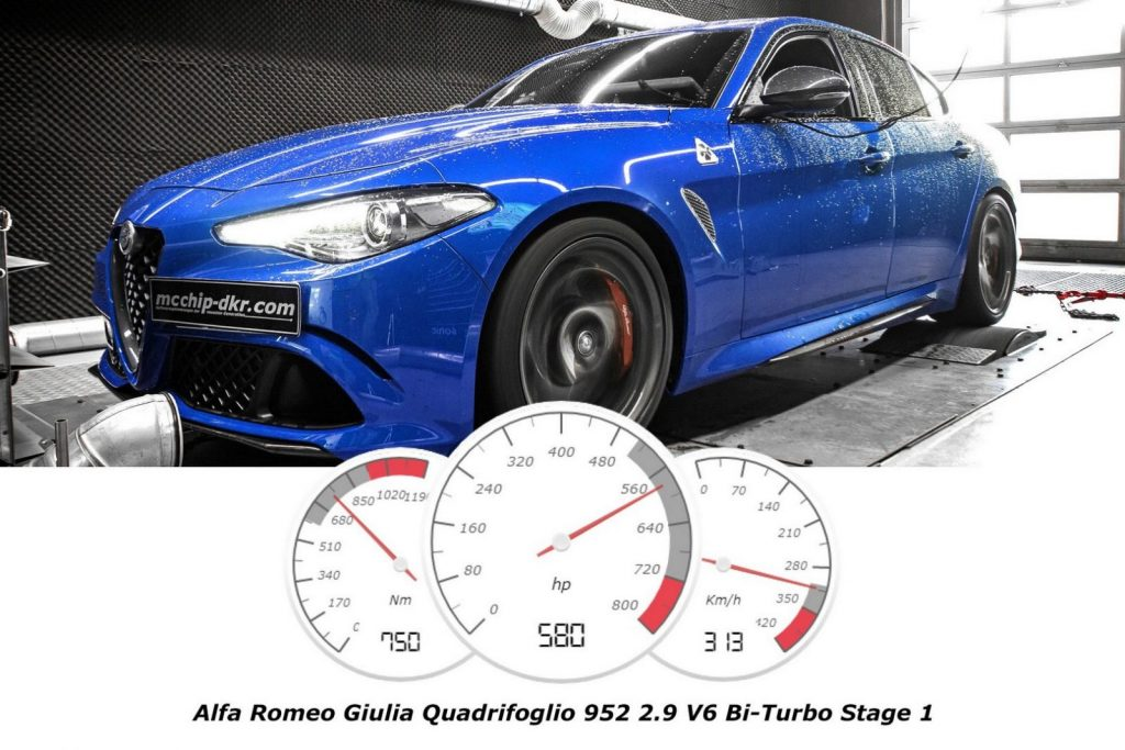 Alfa Romeo Giulia Quadrifoglio Can Overpower Ferrari 488 GTB With This Kit