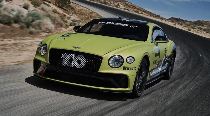Bentley Continental GT Becomes Pikes Peak's Fastest Production Car