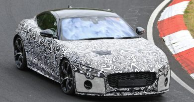 Jaguar F-Type Spy Shots Reveal Some Serious Changes