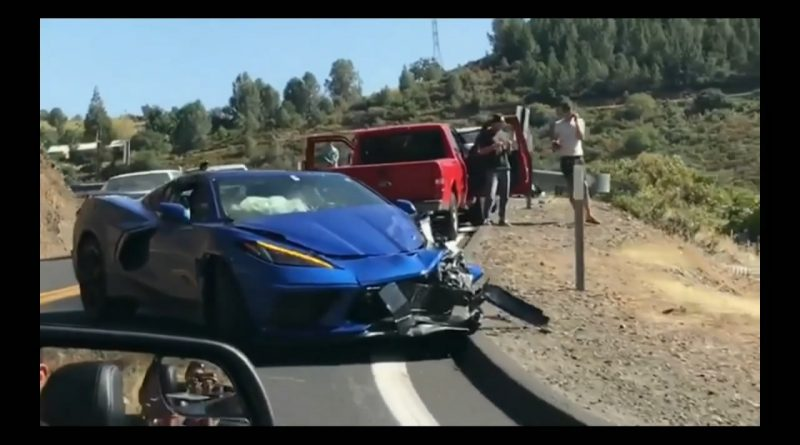 2020 Chevy Corvette Stingray C8 Gets Destroyed in First Three Weeks