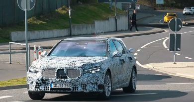 2021 Mercedes S-Class Hits the Nurburgring