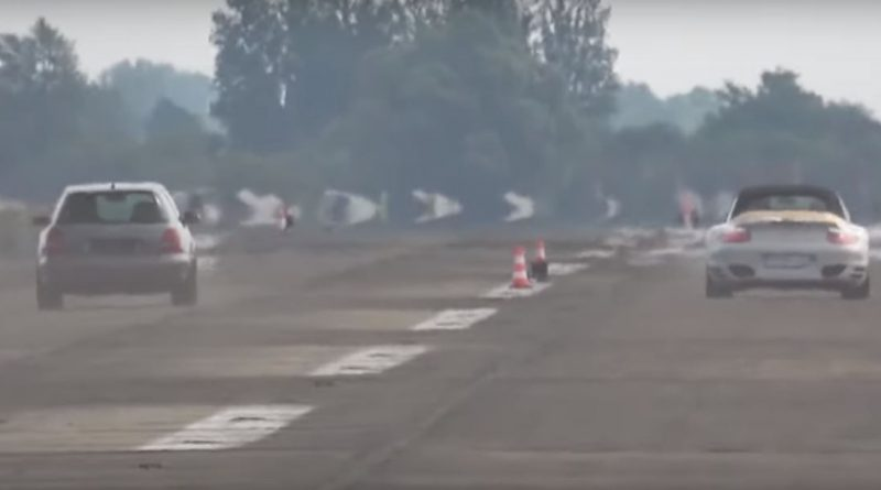 Audi S4 Drag Races Porsche 911 Turbo, Brutality Ensues