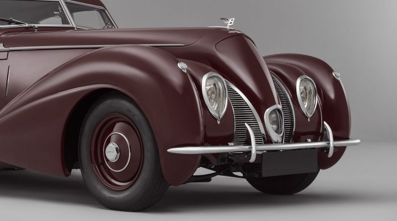 Bentley Recreates 1939 Corniche