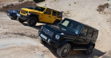 Jeep Wrangler Loses to Mercedes G-Class and Toyota Land Cruiser in Off-Road Comparison modified