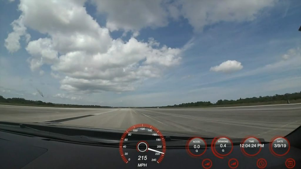 Modded 2009 Nissan GT-R Casually Touches 215 MPH Mark