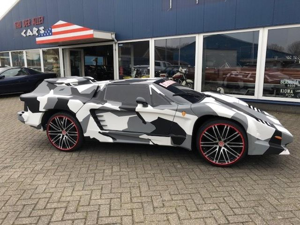 This Car Gets Koenigsegg Look And VW Beetle Frame