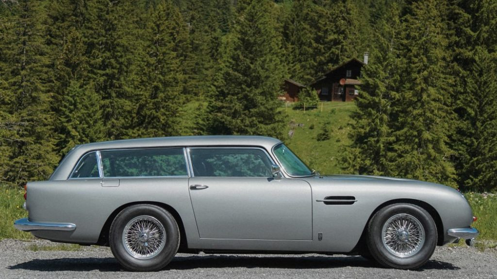 Ultra Rare 1965 Aston Martin DB5 Shooting Brake Goes Under Hammer