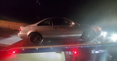 A Deluded Driver Thought His V6 Acura Could Beat V8 Police Car