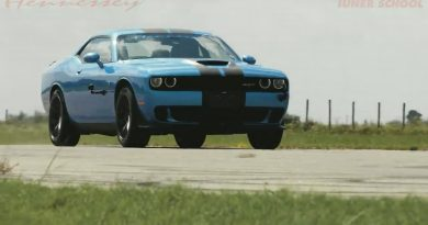 Hennessey Dodge Challenger Hellcat HPE1000 in Action