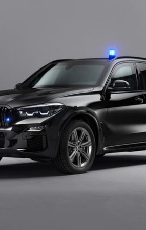This BMW X5 Can Protect You From Bullets and Drone Strikes