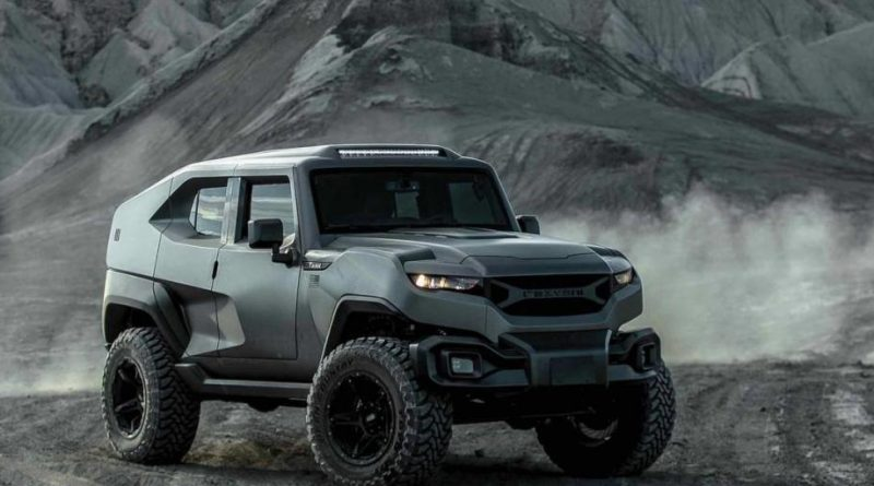 2020 Rezvani Tank Military Edition is Powerful Inside and Out
