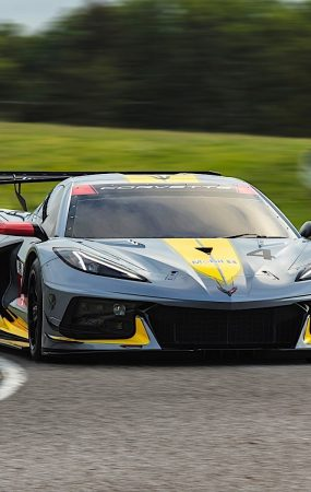 Chevrolet Corvette C8.R Track Action Preview
