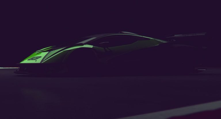 This Cool Green Thing is Lamborghini's New Track-Focused Supercar