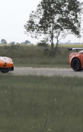 Watch Hennessey Corvette ZR1 Humiliating McLaren 720S